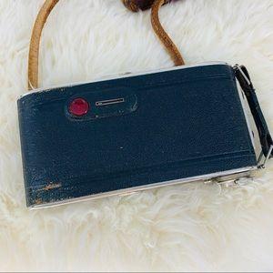 Vintage Accents - Vintage Rustic Camera Camera Bag Home Decorative